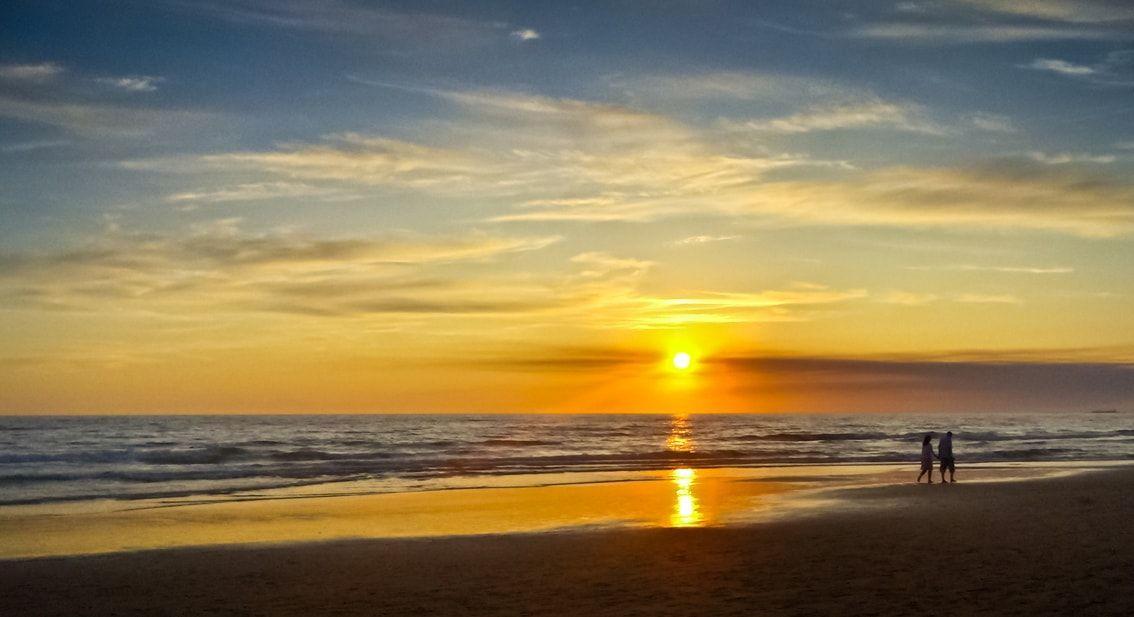 puesta de sol cadiz