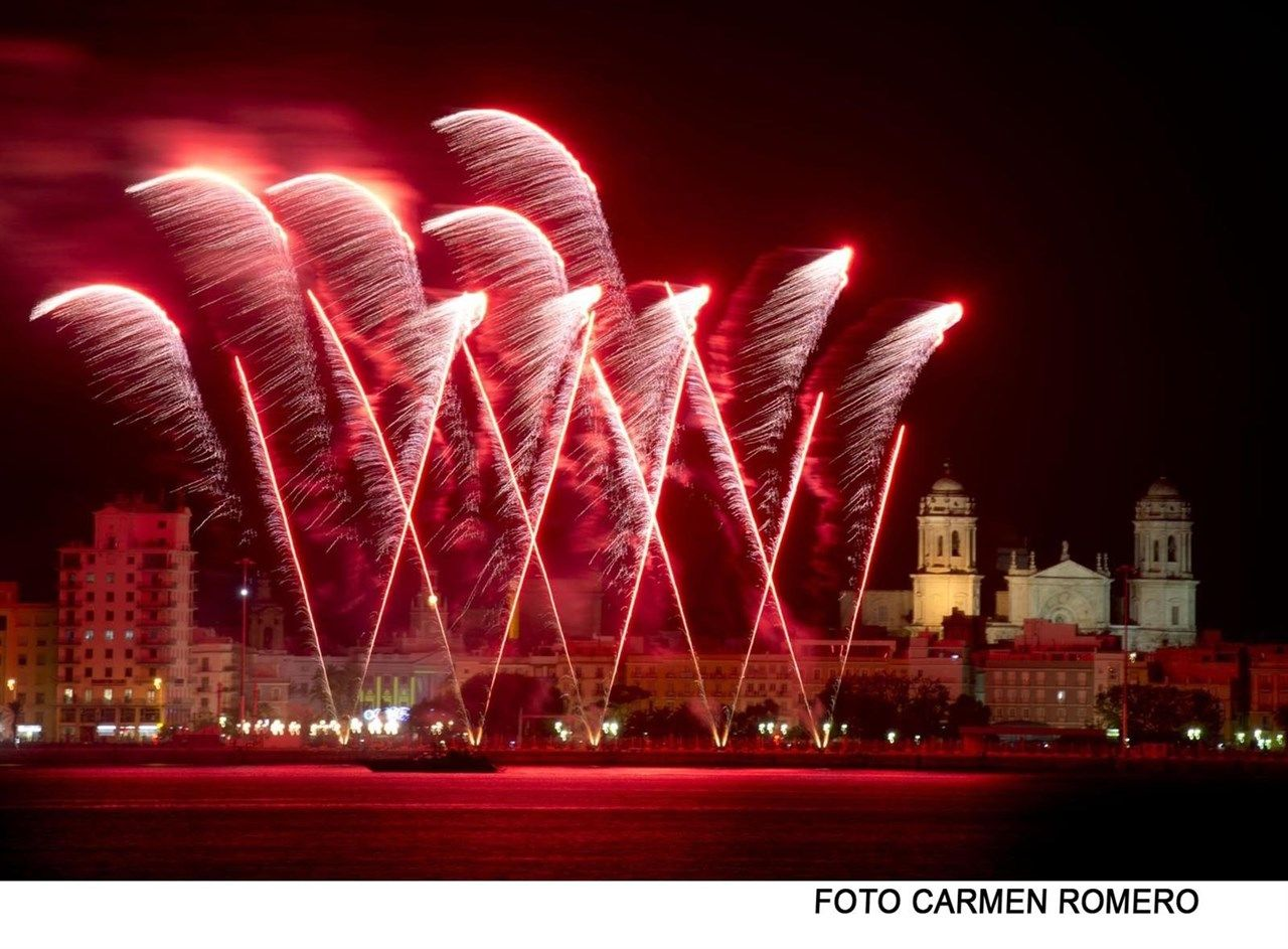 fuegos artificiales cadiz