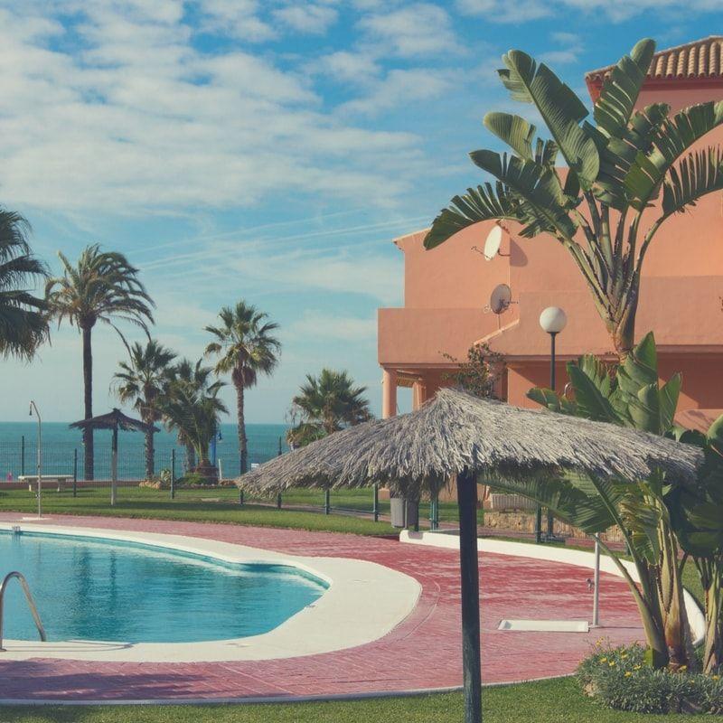 casas con vistas al mar en chiclana