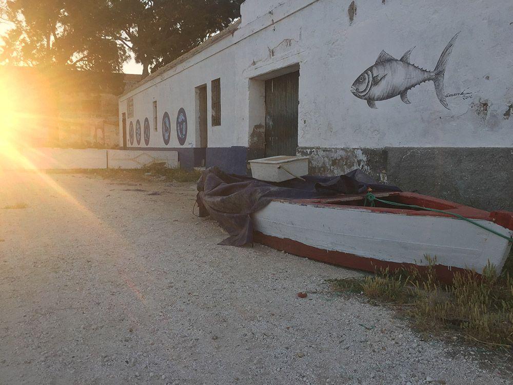 foto poblado pescadores sancti petri