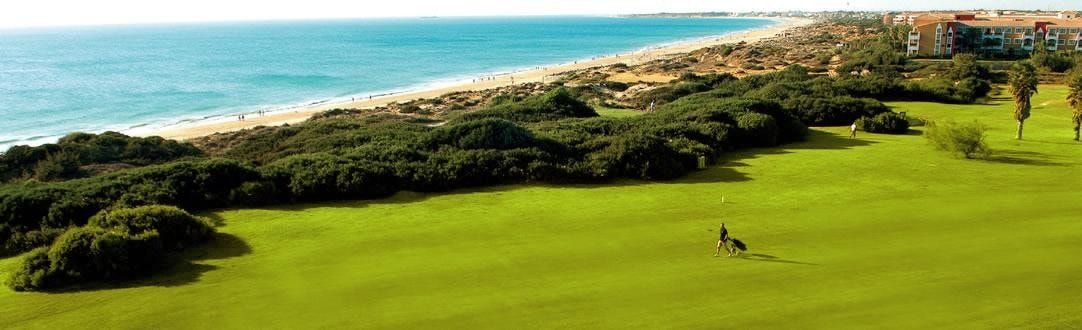 club de golf con vistas al mar en chiclana de la frontera