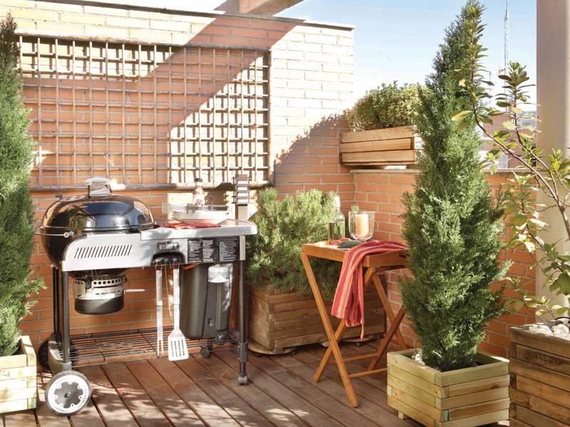 Qu debe tener una casa en la playa campomar inmobiliaria - Barbacoas para terraza ...