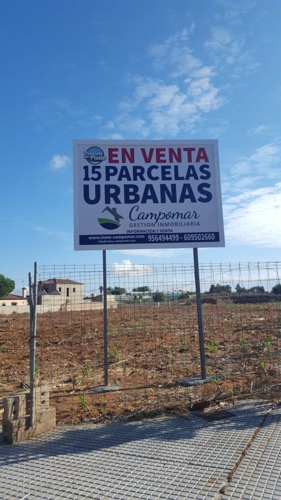Parcelas urbanas en chiclana - Campomar