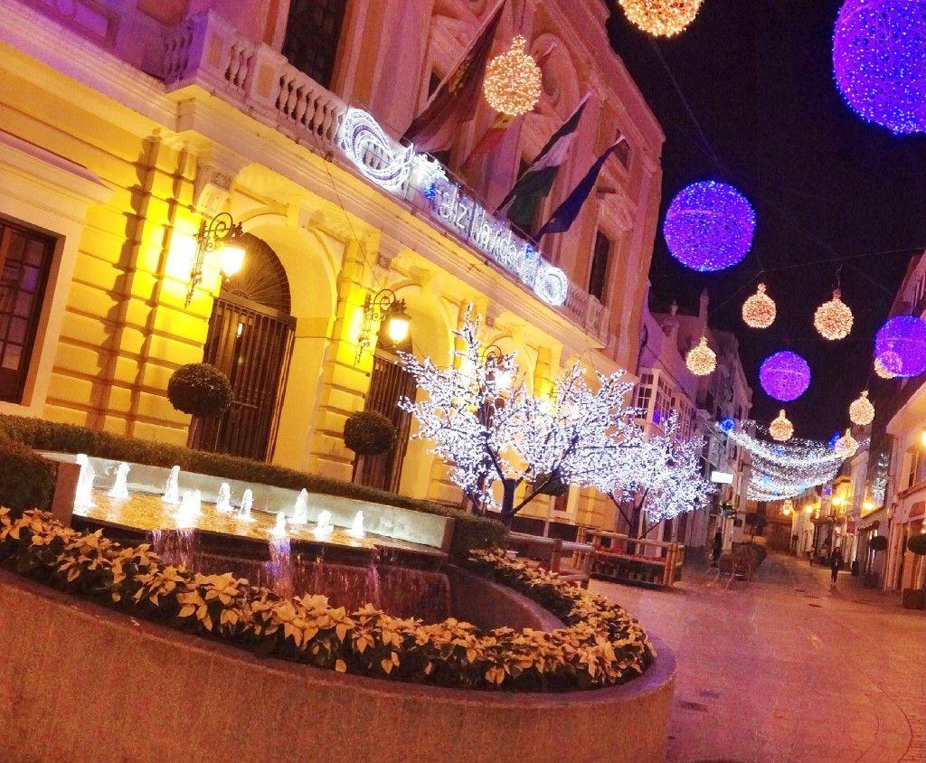 Luces de Navidad en Chiclana de la Frontera