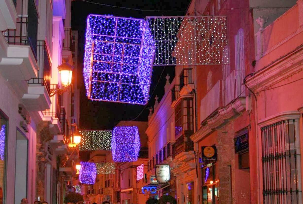 Luces de Navidad en Chiclana