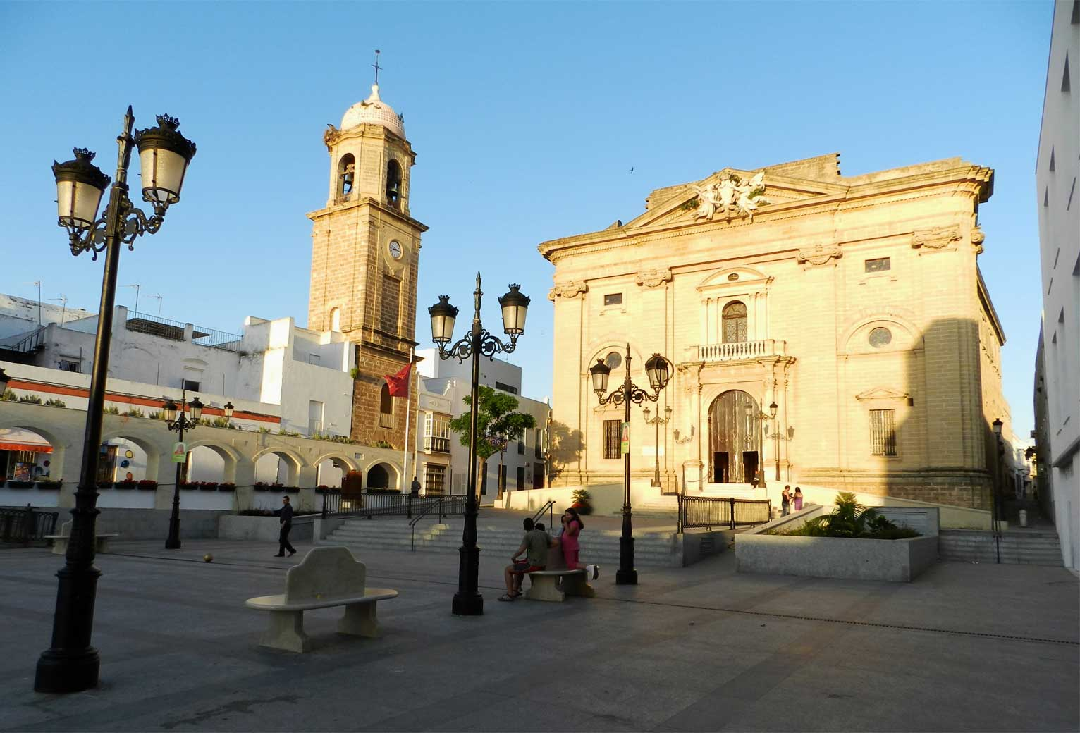 plaza mayor chiclana