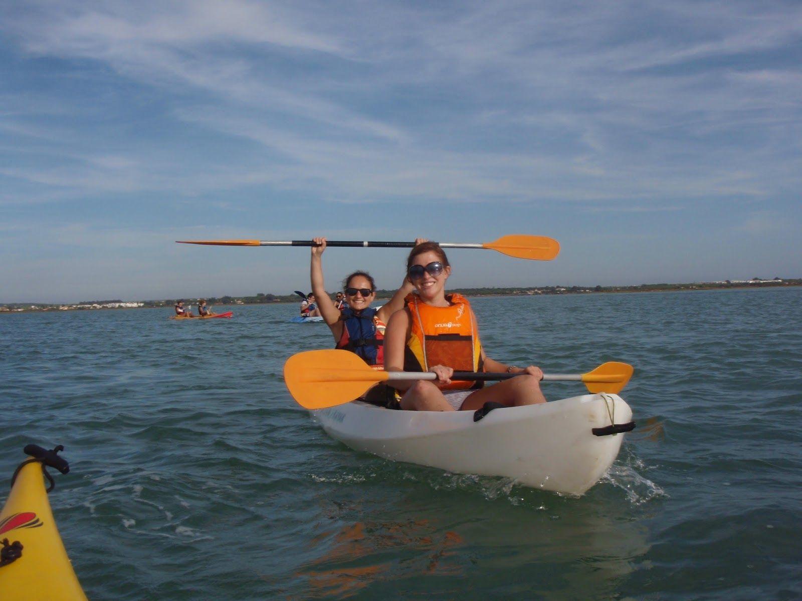 planes en kayak en chiclana