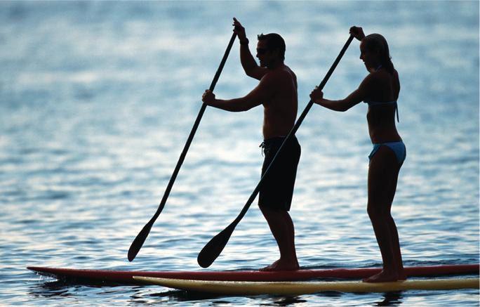 paddle surf en Chiclana
