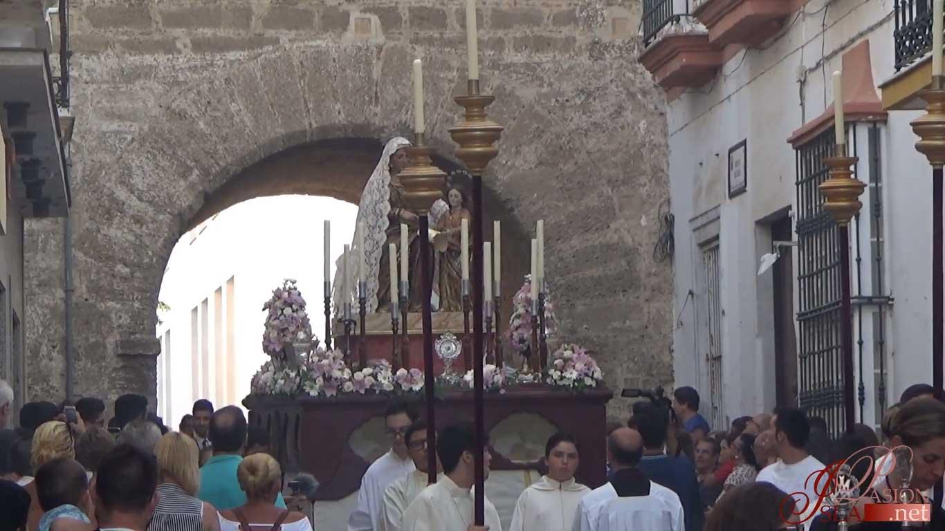 procesión en Chiclana de la Frontera