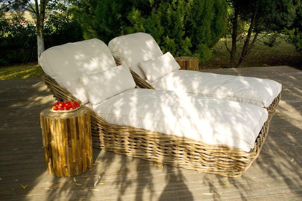 decoración de muebles terraza