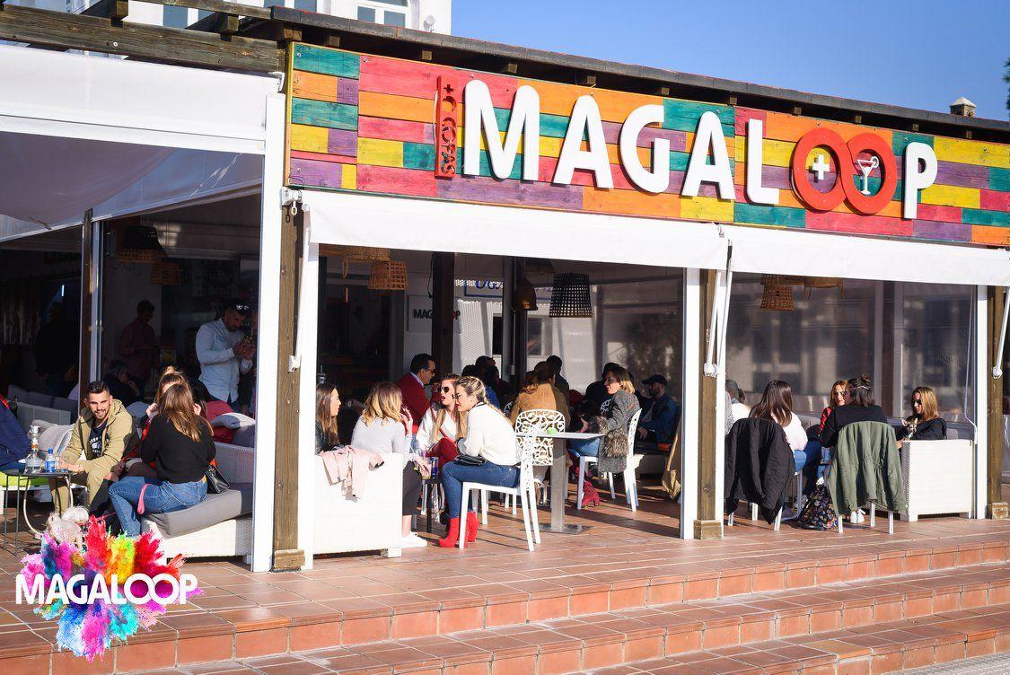 Magaloop Café y Copas en Chiclana