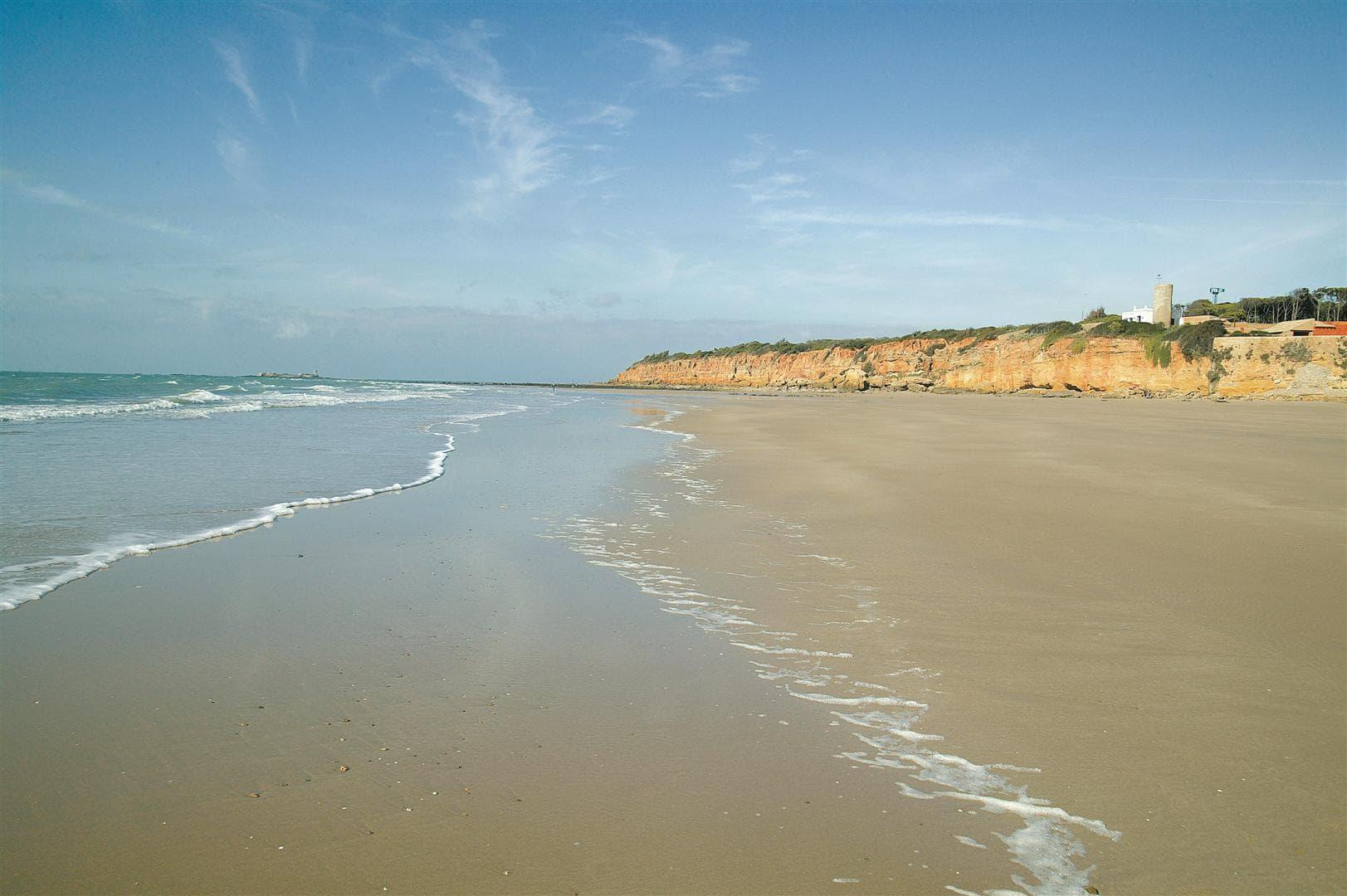 arena de la Playa de la barrosa